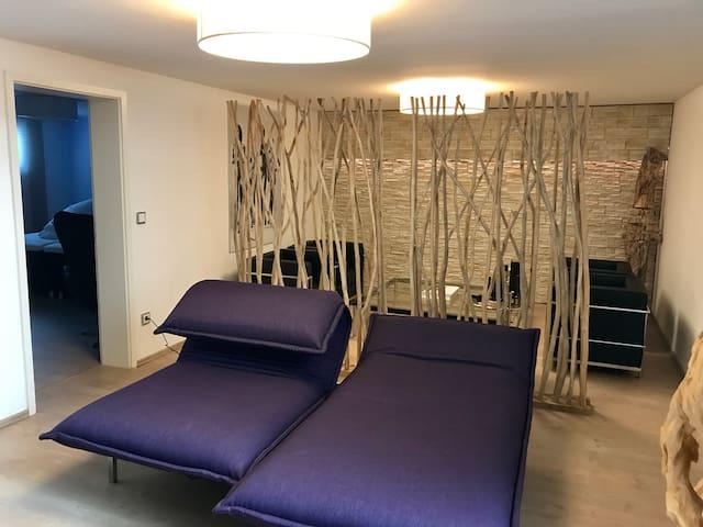 Moderne ruhige Wohnung mit 85m2 nahe Regensburg