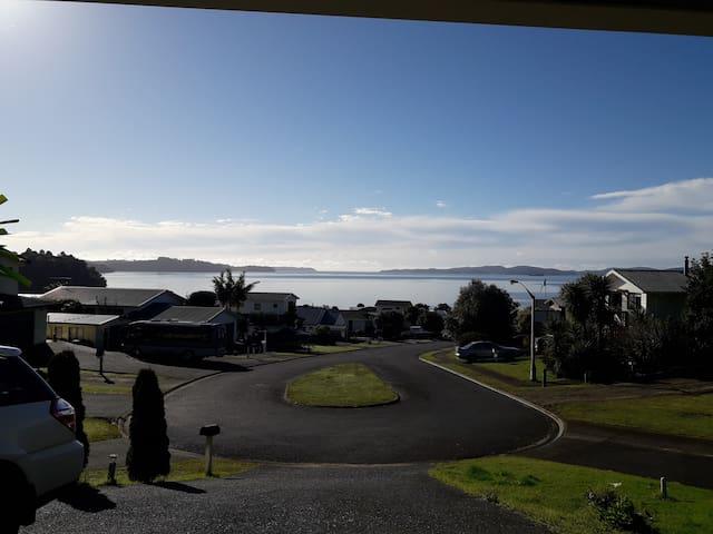 Wonderful sea view of beautiful Kawau Bay.