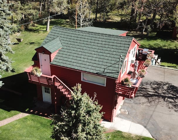 Mountain Retreat is now decked out in a new fireproof Decra metal roof.