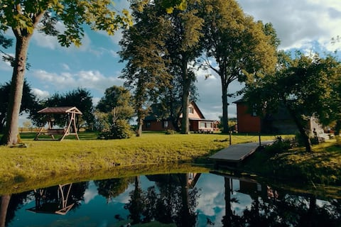 Holiday house in the countryside 50 km from Riga