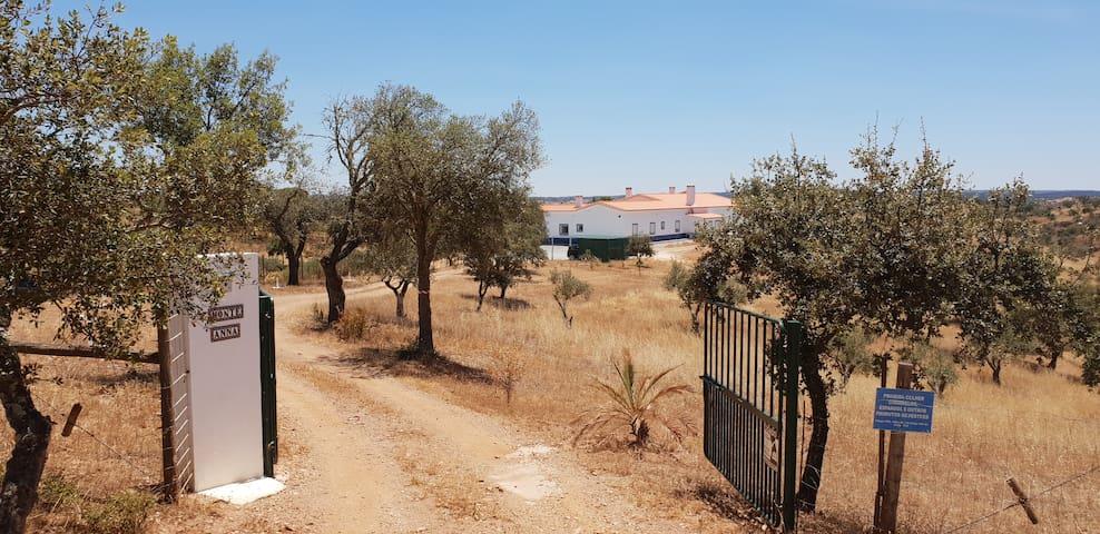 Monte Anna  maison de campagne pour naturistes