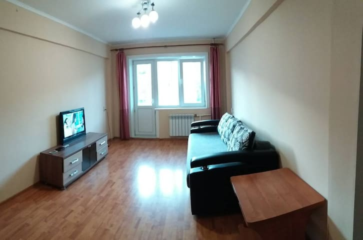 apartament in the city center. Borsoeva 25st