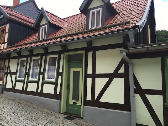 Ferienhaus Töpfergasse  in Stolberg - Südharz - Huis