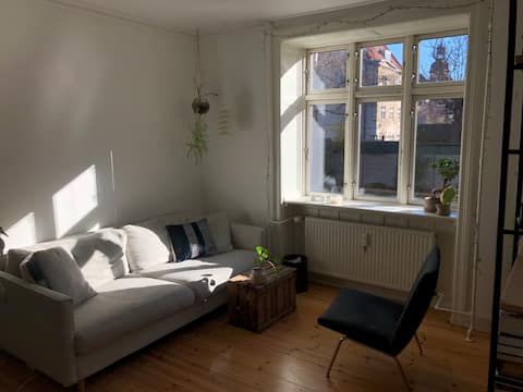 """central and """"hygge"""" flat 200 meter from metro"""