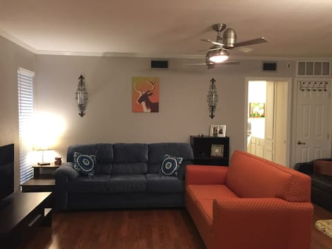 Cozy, quiet, and close to downtown & the domain