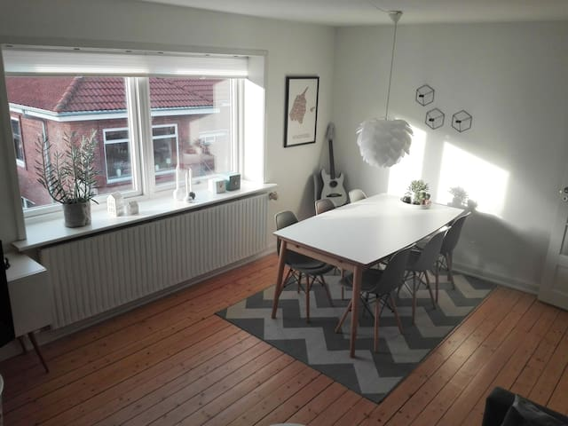 Newly renovated apartment with lovely backyard