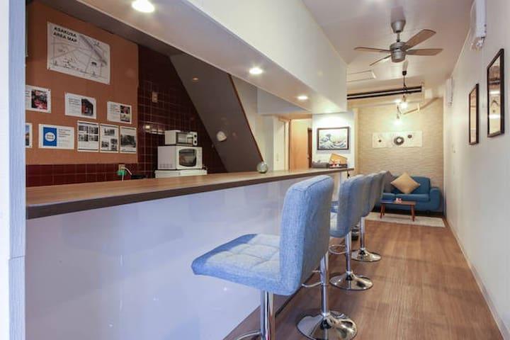 NEW! Asakusa 12 min Modern Japanese house 85sqm - Taito - House