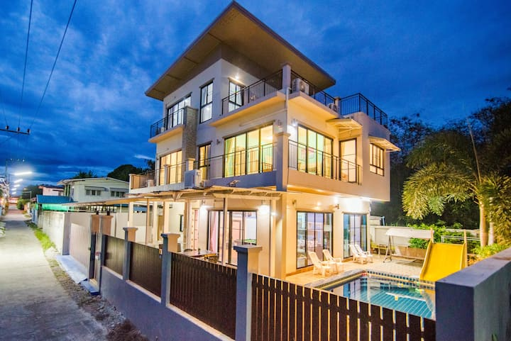 Khao Takieb pool villa huahin