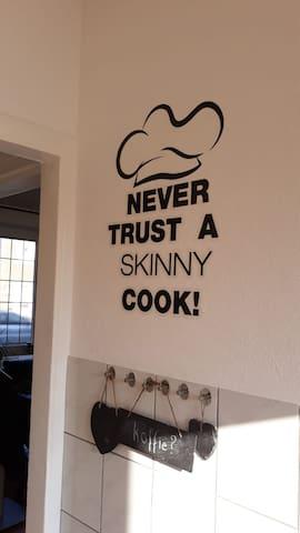 de keukenmuur