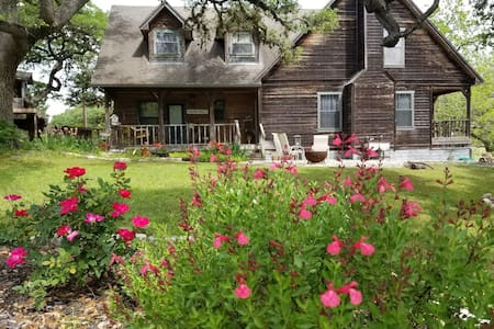 The Pond House,hill country relaxation on 4 acres