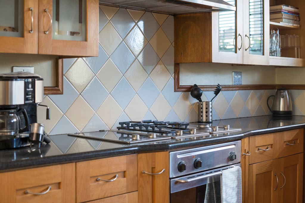 Moderm, well equipped kitchen