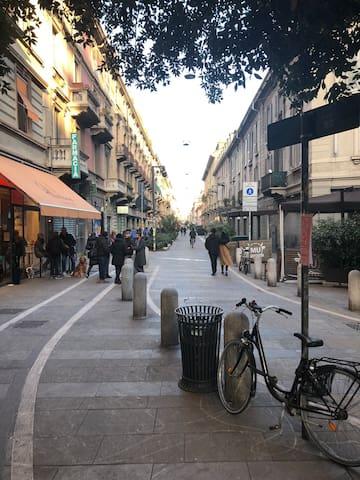Modern apartment near Arco della Pace/Sempione