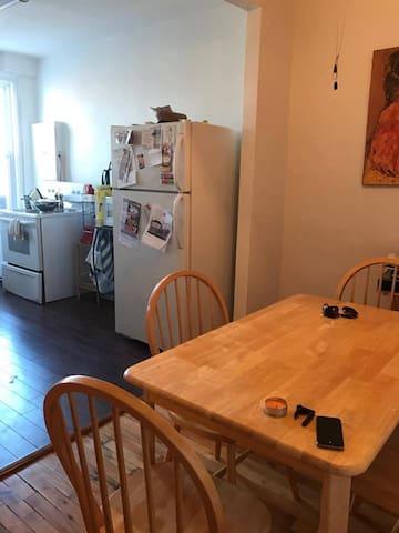 Joli appartement Vieux-Rosemont - 蒙特利爾 - 公寓