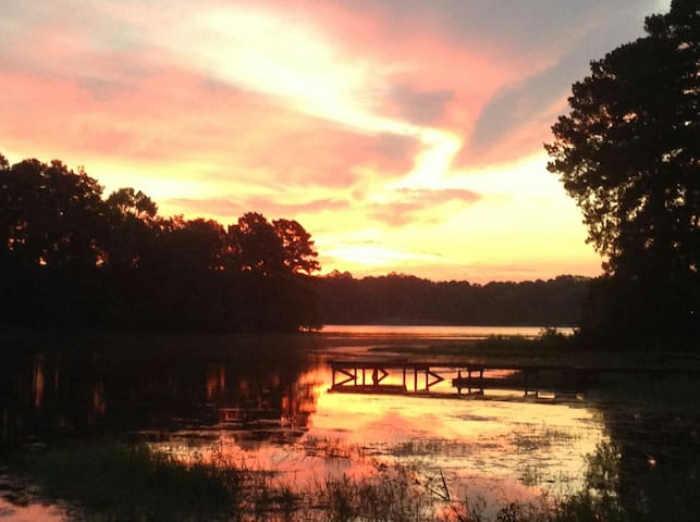 Sabine Sunrise in Toledo Bend Lake Country