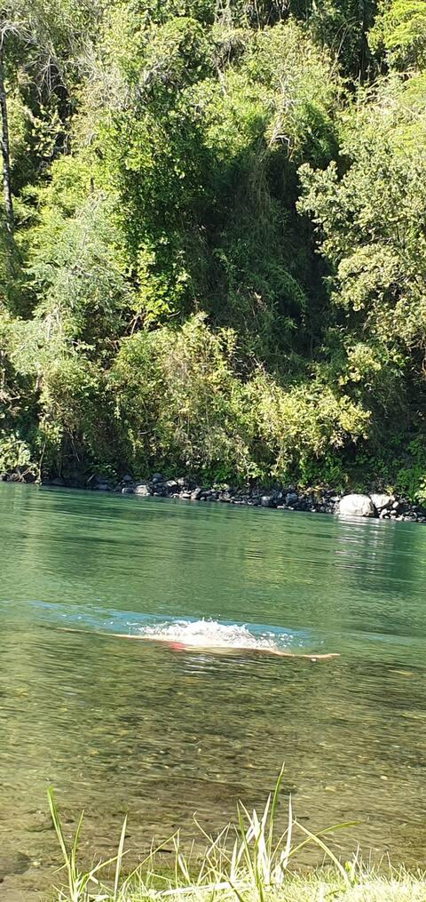 Acojedora Casona  4dorm+2baños, pasos Río Tolten.