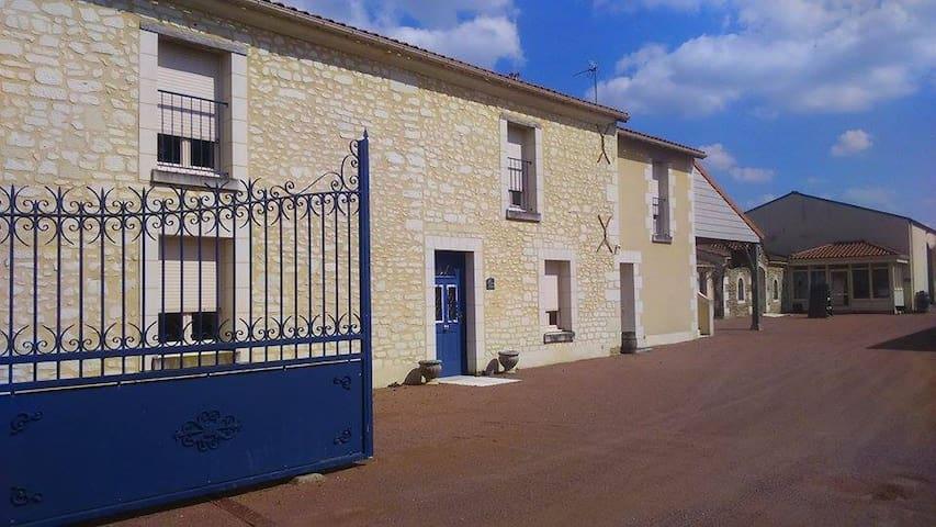 Les Loges de Vignes - Domaine du Vieux Pressoir - Vaudelnay - House