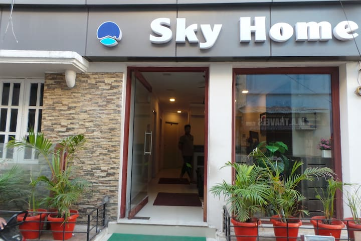 Sky Home - Chennai - Boutique-hotell