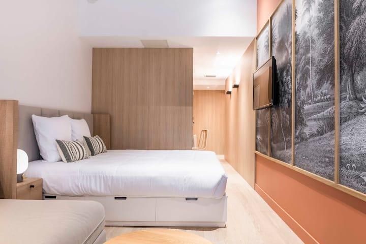 Central Hostel Bordeaux- Chambre Standard Triple