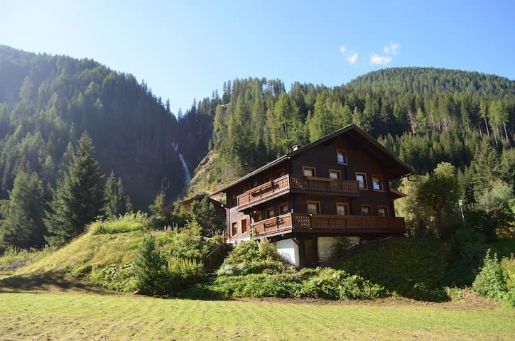 Chalet Villa Aurora near the waterfall - Gemeinde Sankt Jakob in Defereggen - Дом