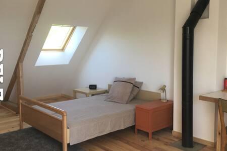 Grande chambre, SDB privative proche Etel, Erdeven