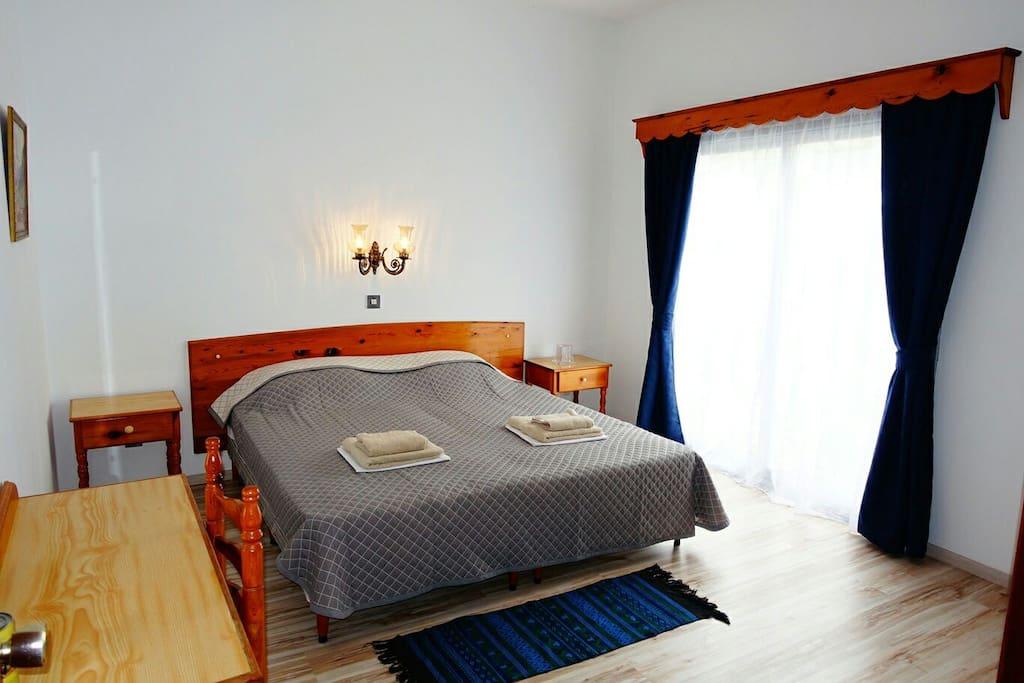 Hotel standard double bedroom