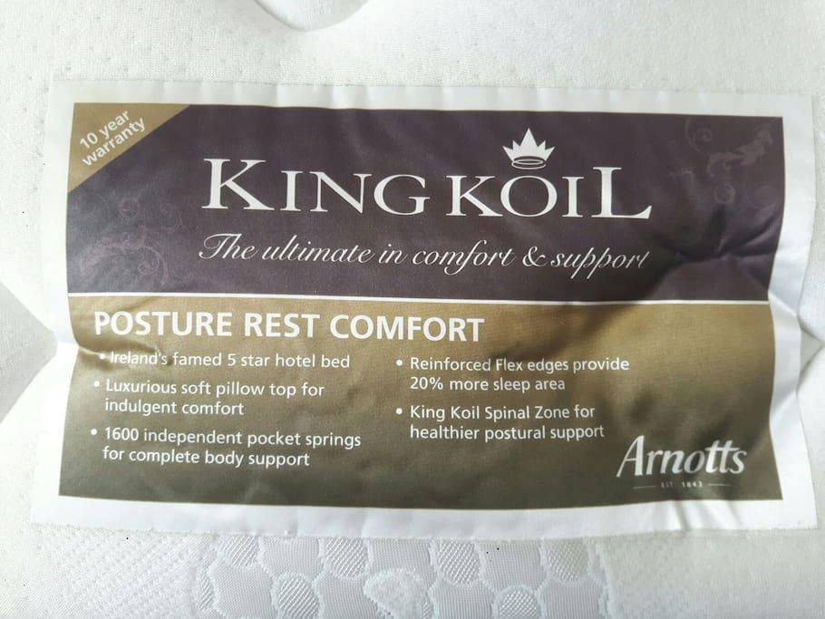 Hotel quality mattress