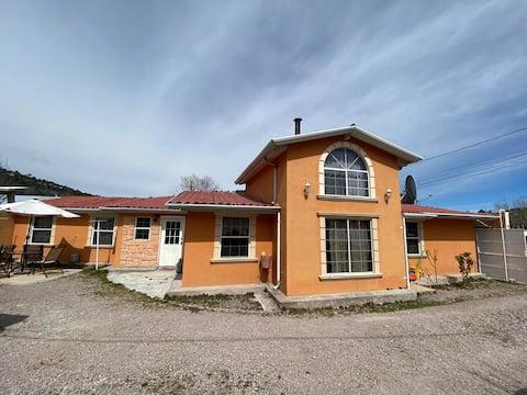 Casa de ensueño en la sierra tarahumara