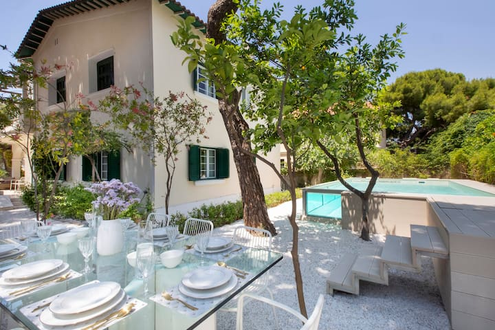 "Stunning ""VILLA 1951"" in Glyfada, 300m. from beach"