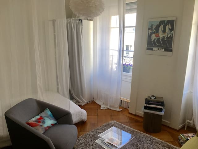 Nice and cosy appartment ideally located in Geneva - Genebra - Apartamento