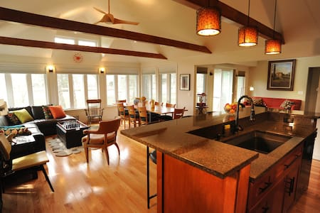 Exclusive Beach house, private community beach - South Haven - House