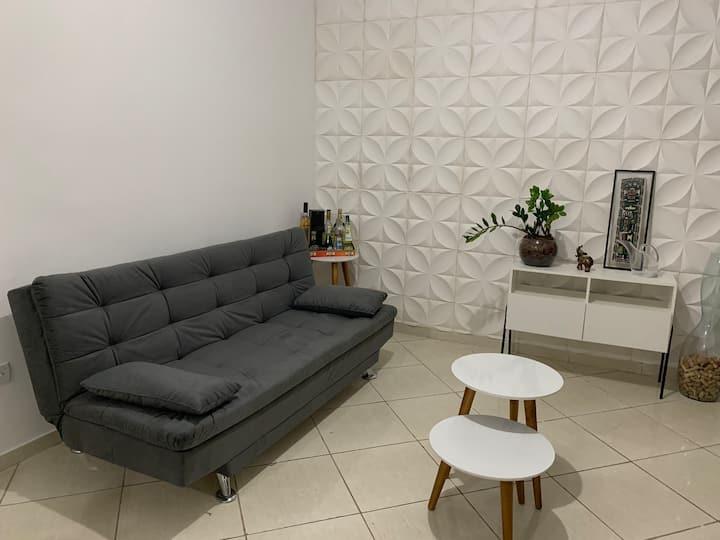 Apartamento confortável (higienizado)