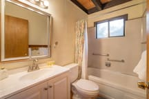 Full Bathroom downstairs to accommodate two downstairs bedrooms