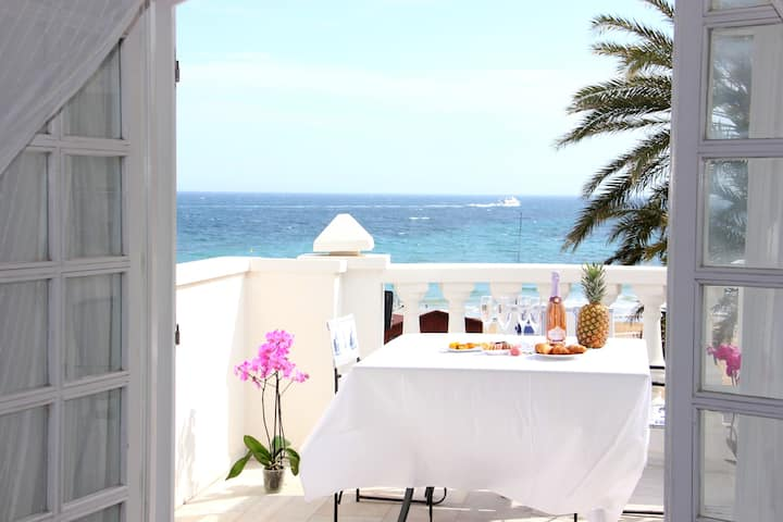 La Playa Blanca 4, Duquesa,Sea View, Pool,WiFi