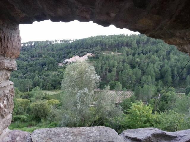 Le point de vue de la  terrasse