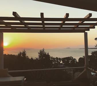 Stunning view house @ Aeginitissa - Egina