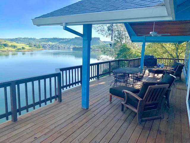 Waterfront with Private Dock at Lake Tulloch