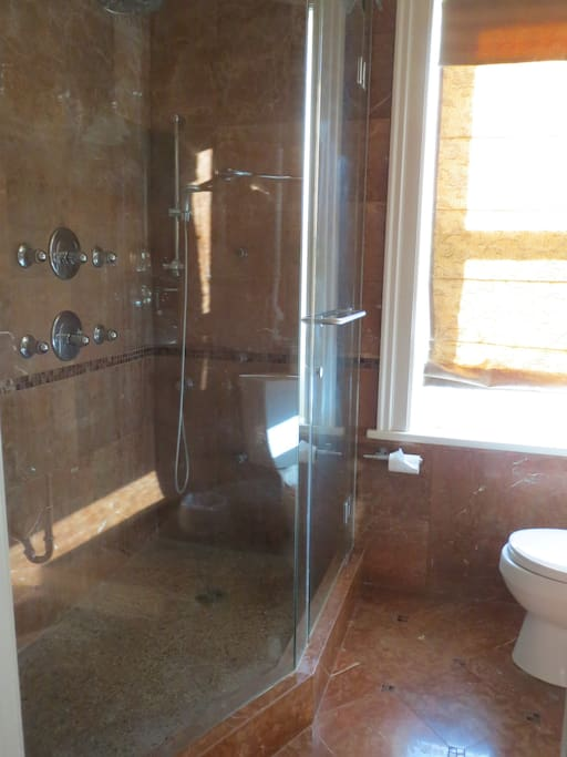 Shower in the private ensuite