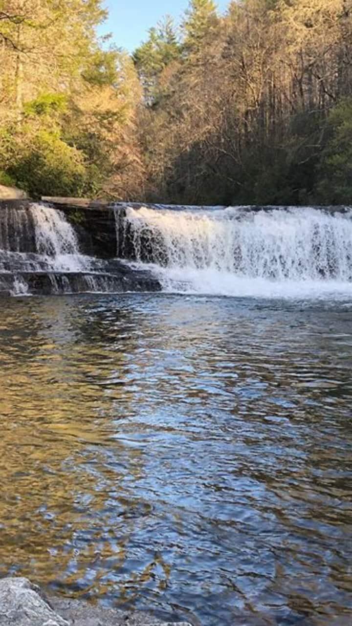 Hooker falls - Waterfall #1