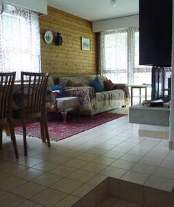 Sehr gemütliche 3 1/2  Zimmerwohnung in Grimentz - Grimentz - Appartement