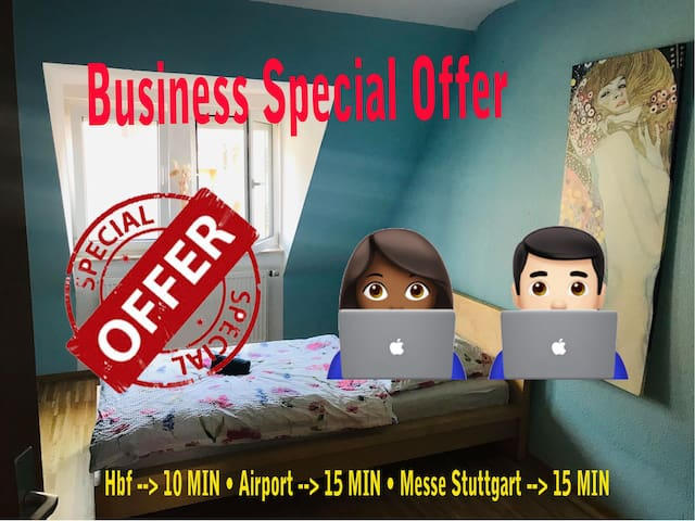 Business Special - central - fast Wifi