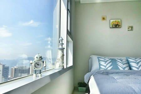 Ocean view& COZY &지하철2분,EGG,무료주차,신축,Amenity. - 부산광역시 - Apartment