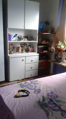 casa simples e aconchegante, ambiente familiar - São Paulo - Huis