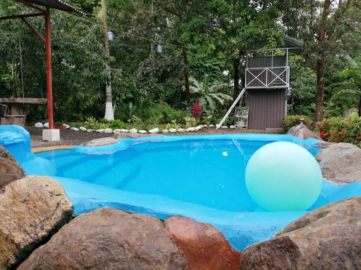 Casa Habana- Secluded house with natural POOL !!!
