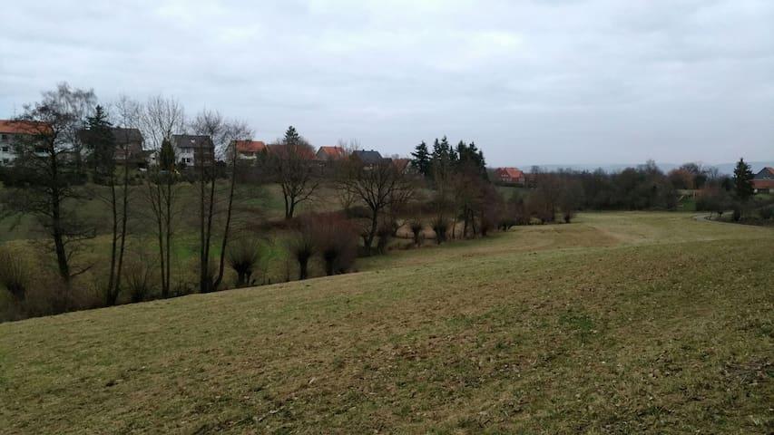 Raus in die Natur, frische Landluft - Extertal
