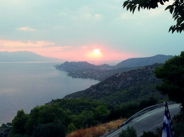 Comfortable apartment with breathtaking view - Korinthos - Daire