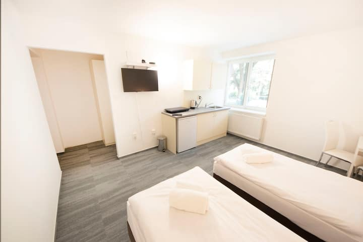♚ Flat near Hockey&Soccer Arena close to center ♚