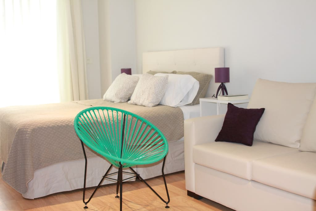 Buenos Aires apartment close to Downtown WIFI Smart TV
