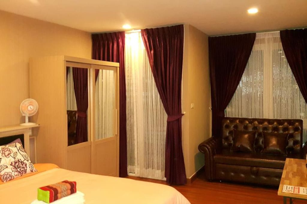 Fully furnished ,Internet Access Wifi for FREE!