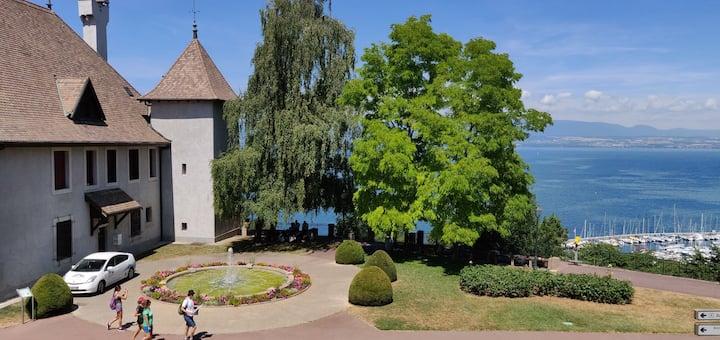Petit studio hyper centre avec superbe vue sur lac
