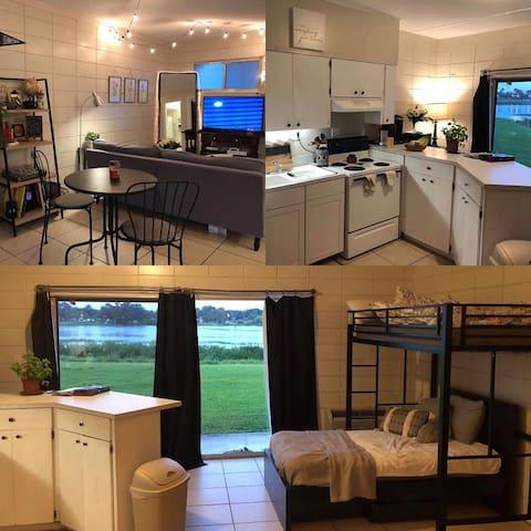 Mira lago studio apartment